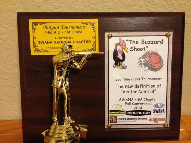 2014 GA SWANA Buzzard Shoot Trophy-1